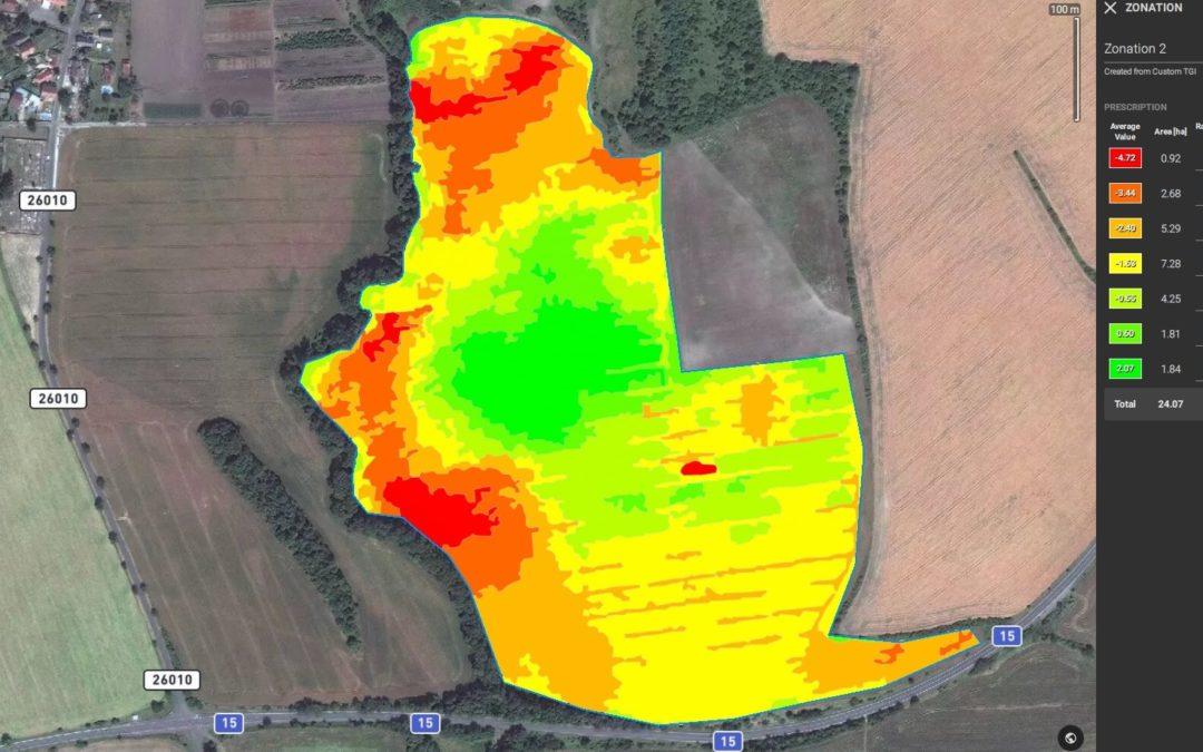 Nižší náklady na hektar ve 3 krocích